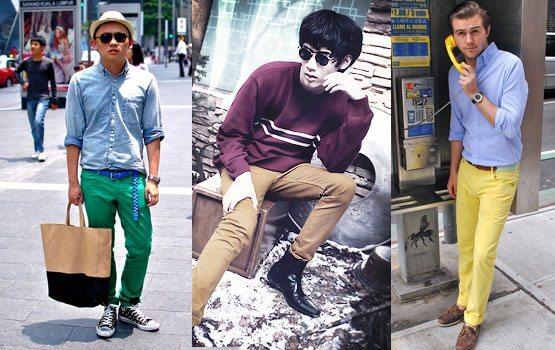 Renkli pantolon 2